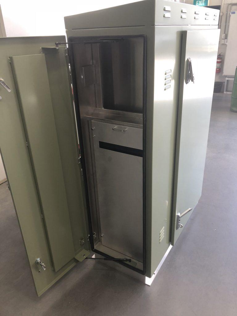 Dosing Cabinet Fabrication