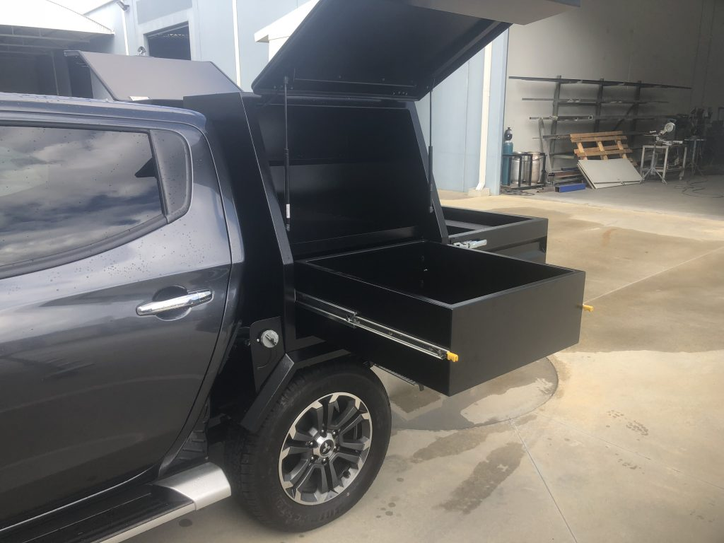 Perth Chassis Mounted Canopy Fabrication