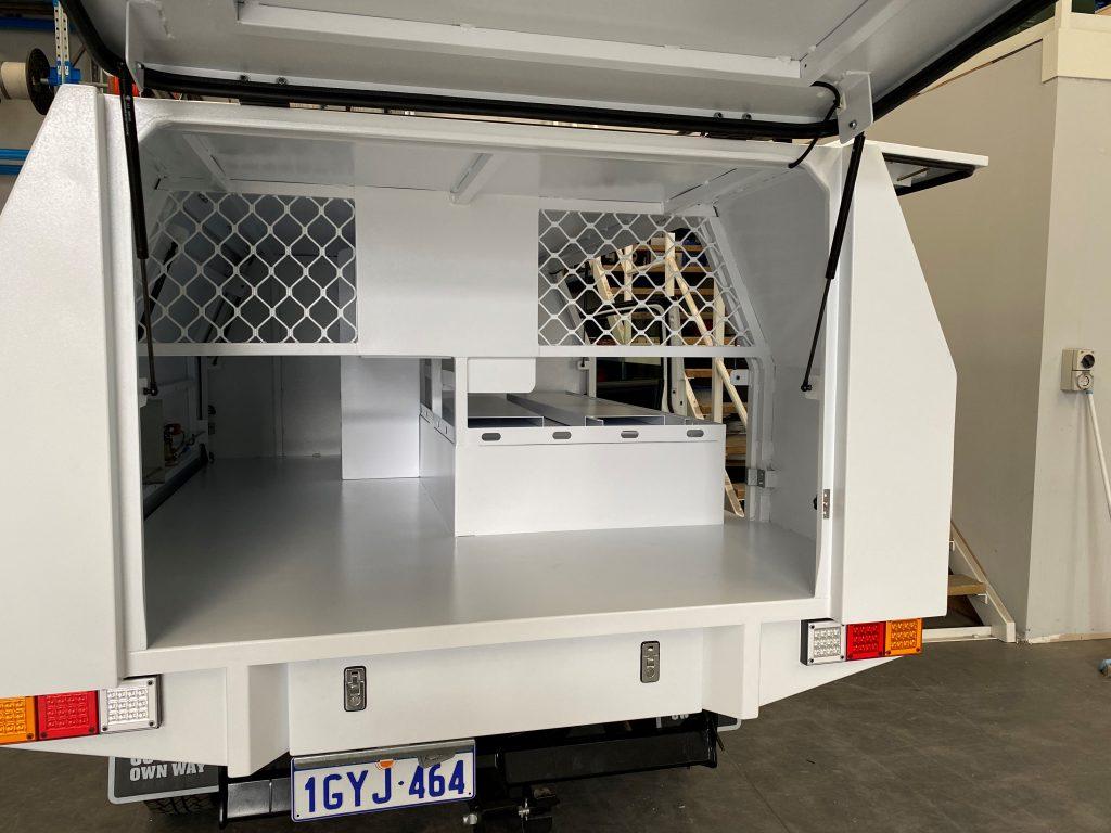 Custom Built Utility Canopy